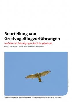 Leitfaden Greifvogelflugvorführungen