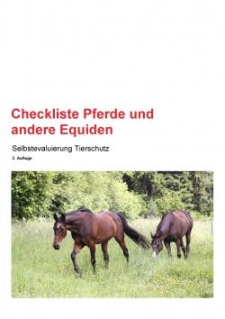 Checkliste Pferde und andere Equiden 3. Auflage