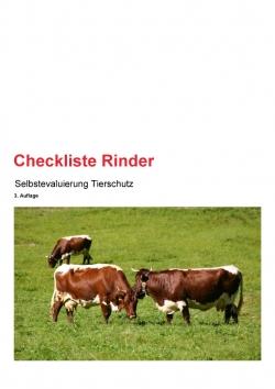 Checkliste Rinder 3. Auflage