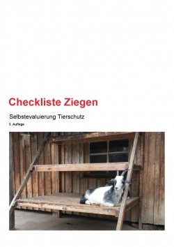 Checkliste Ziegen 3. Auflage