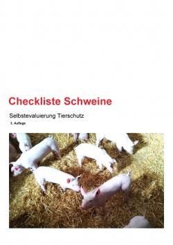 Checkliste Schweine 3. Auflage