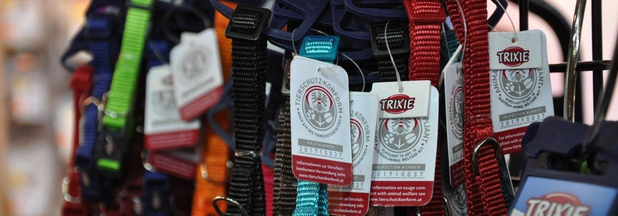 Trixie Produkte mit Tierschutz-Kennzeichen
