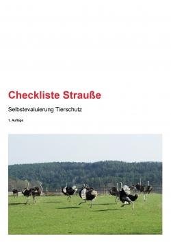 Checkliste Strauße